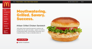 McDonald's artisan
